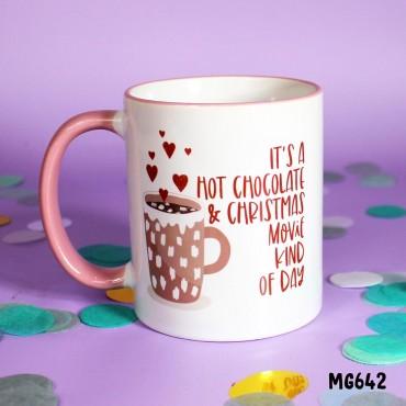 Hot Choc Xmas Movie Mug