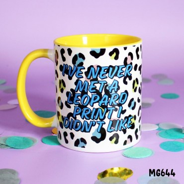 Leopard Print Style Mug