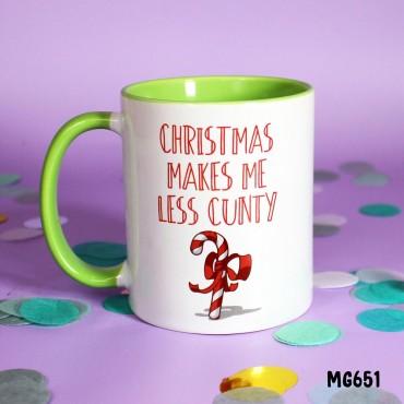 Xmas Cunty Mug