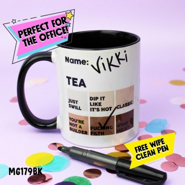 Tea Chart Mug