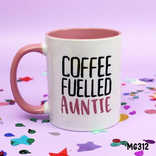 Coffee Fuelled Auntie Mug