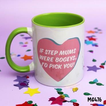 Stepmum Bogey Mug