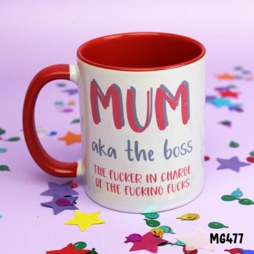 Mum AKA the Boss Mug