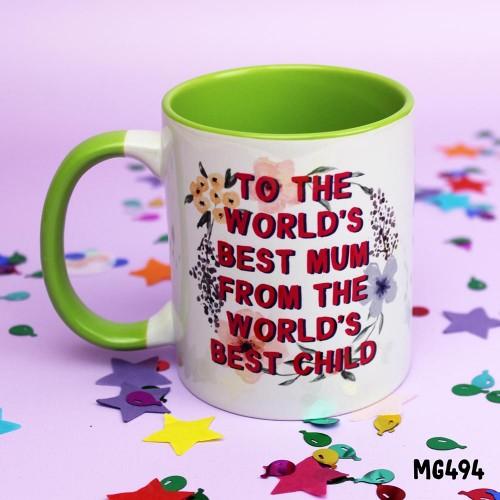 Best Mum Child Mug