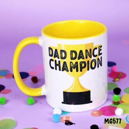 Dad Dance Champion Mug