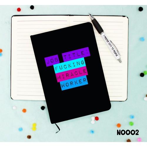 Job Title Notebook