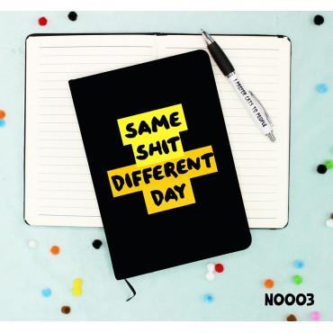 Same Shit Notebook