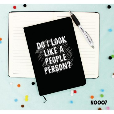 People Person Notebook