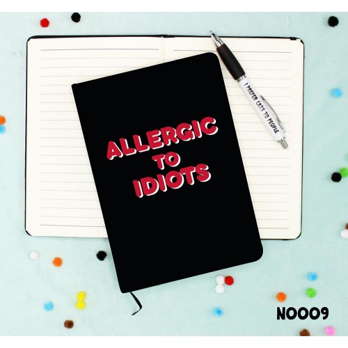 Allergic to Idiots Notebook