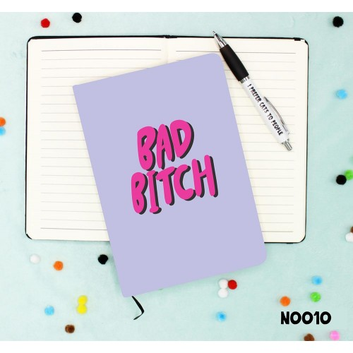 Bad Bitch Notebook