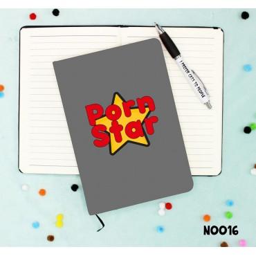 Porn Star Notebook