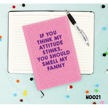 Stinky Attitude Notebook