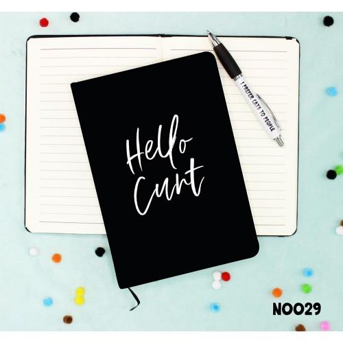 Hello Cunt Notebook