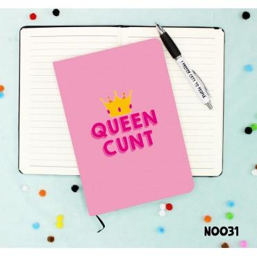 Queen Cunt Notebook