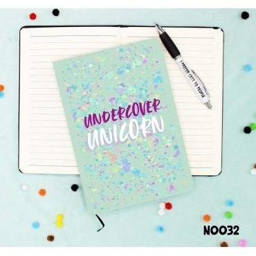 Undercover Unicorn Notebook