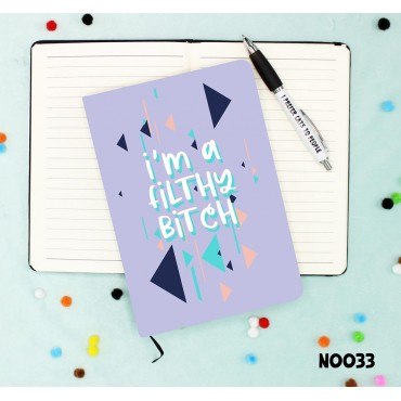 Filthy Bitch Notebook