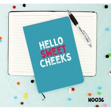 Sweet Cheeks Notebook