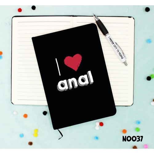 Love Anal Notebook