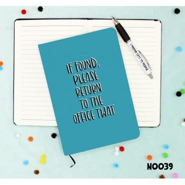 Office Twat Notebook