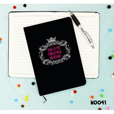Fancy New Notebook
