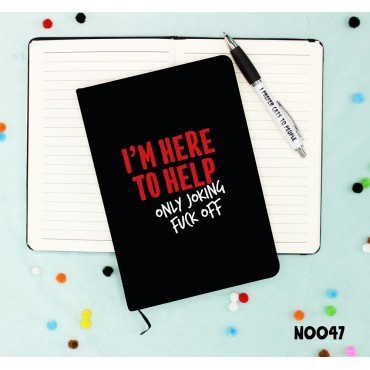 Here to Help Notebook