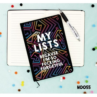 My Lists Notebook