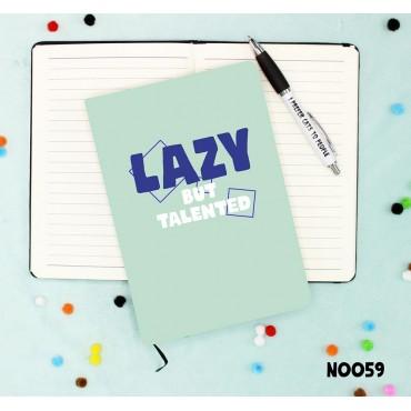 Lazy But Notebook