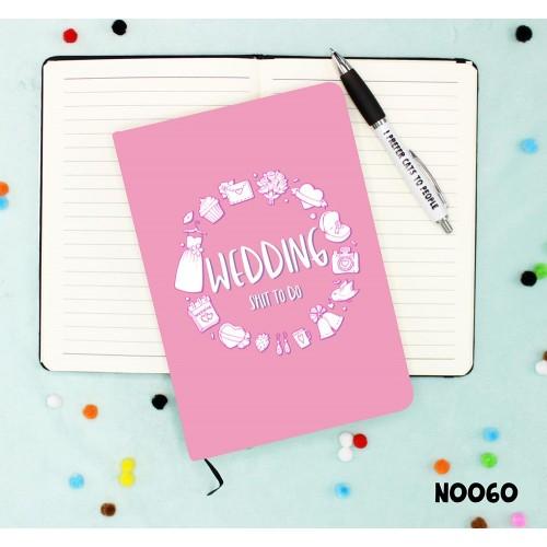 Wedding Shit to do Notebook