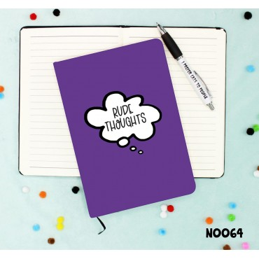 Rude Thoughts Notebook