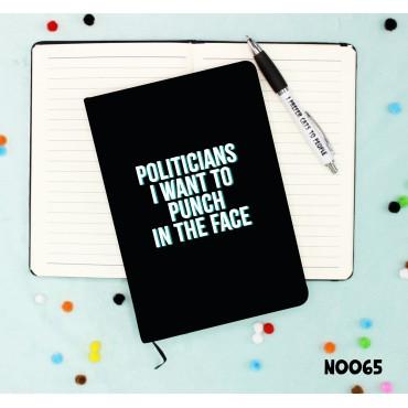 Politicians Notebook