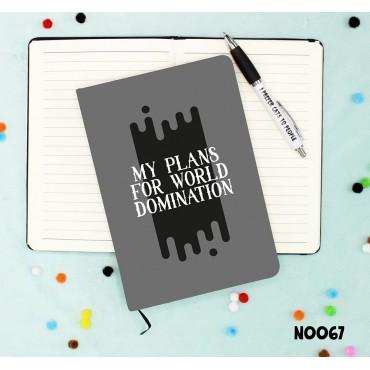 World Domination Notebook
