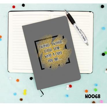 Twinkle Cunt Notebook