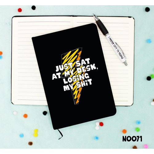 Losing Shit Notebook