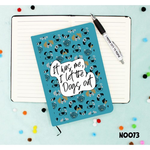 Dogs Out Notebook