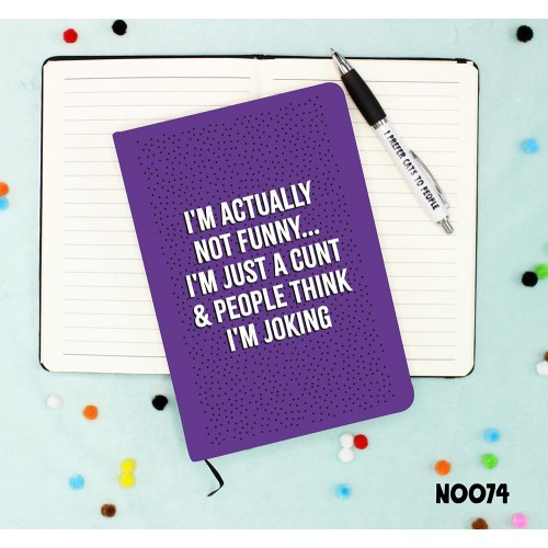 Funny Cunt Notebook