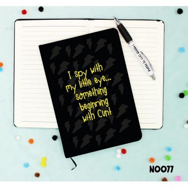 I Spy Notebook