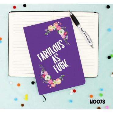 Fabulous As Fuck Notebook