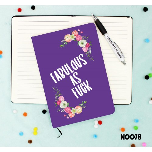 Fabulous As Fuck Notebook