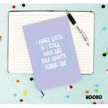 Making Lists Notebook