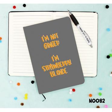 Strawberry Blonde Notebook