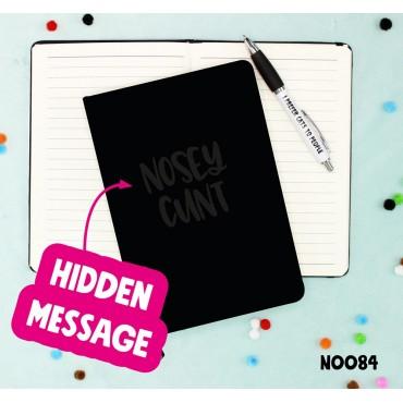 Nosey Cunt Notebook