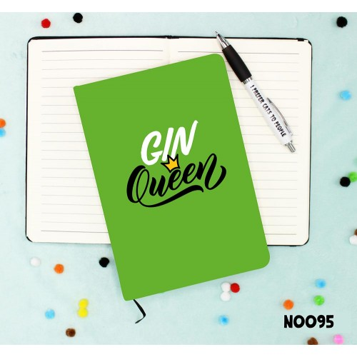 Gin Queen Notebook