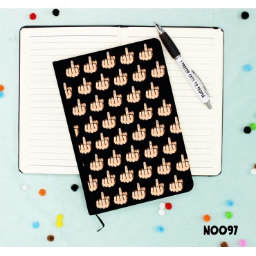 Middle Finger Notebook