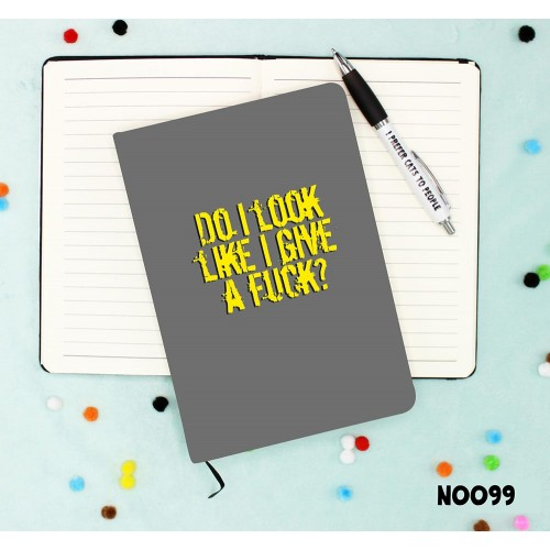 Give a Fuck Notebook