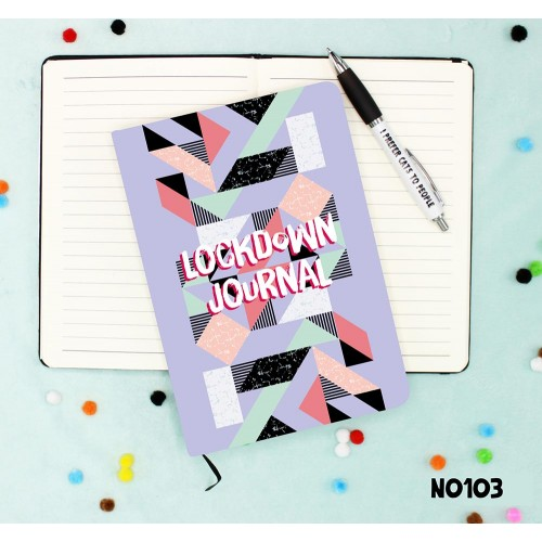 Lockdown Journal Notebook