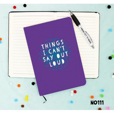 Say Out Loud Notebook