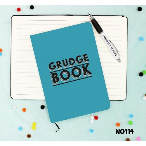 Grudge Book Notebook