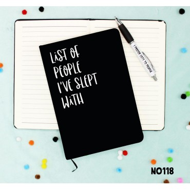 Slept With Notebook