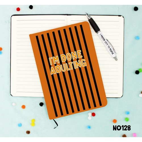 Done Adulting Notebook