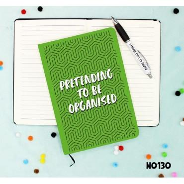 Pretending Organised Notebook